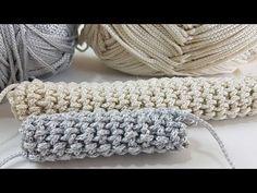 TIĞ İLE KOLAY ÇANTA KULPU VE KORDON YAPIMI - YouTube Bag Crochet, Crochet Stitches, Crochet Top, Crochet Hats, Merino Wool Blanket, Rugs, Handmade, Stuff To Buy, Youtube