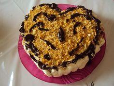 Vefa Alexiadou Recipes | ... favorite cake, the recipe is by Vefa Alexiadou it can be found here Greek Cookbook, Praline Cake, Greek Cooking, Cookbook Recipes, Greek Recipes, Muffin, Good Food, Breakfast, Desserts