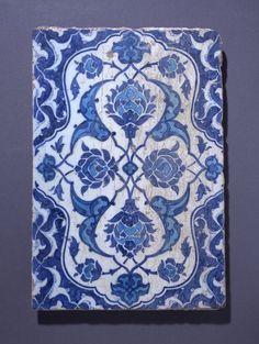 tile; Ottoman dynasty; 1520; Iznik
