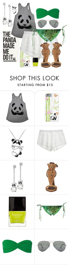 """""""Untitled #273"""" by nacet ❤ liked on Polyvore featuring Panda, Target, Calypso St. Barth, Morellato, Giuseppe Zanotti, Butter London, Água de Coco, Norma Kamali and Ray-Ban"""