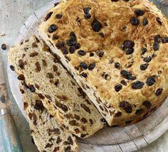 Selkirk Bannock  --    Serve this Scottish classic with plenty of butter. If you have any leftover, toast it for breakfast or use for a bread & butter pudding