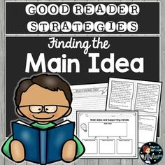 Good Readers find the main idea as they read informational texts! This main idea and supporting details pack includes everything you need to teach your students how to identify the main idea and supporting details, and distinguish between them. Informational Texts, Good Readers, Main Idea, Classroom Resources, Upper Elementary, Task Cards, Math Lessons, Third Grade, Teacher Pay Teachers