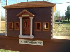 Elizabeth Smith. West Halifax, VT. Made with a nod to the Wilmington VT library the Halifax Center little library offers books to our corner of Vermont. Betty Schaffner owned the historic house that my husband and I restored for her son. The little library was a present built and designed by Howard Smith.