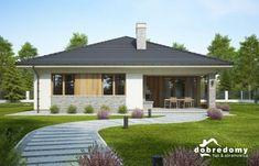 Adele - Dobre Domy Flak & Abramowicz Adele, House Plans, Interior Decorating, Farmhouse, Outdoor Decor, Home Decor, Projects, Decoration Home, Room Decor