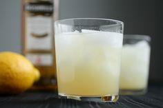 Sweet Whiskey Lemonade: Cointreau + whiskey + lemon juice + lime juice + sugar + apricot preserves + tonic.