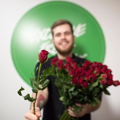 """""""Dan got you roses! Well, technically they're for Love Spell massage bar but in a delightfully indirect way they're a terribly romantic gesture... He's…"""""""