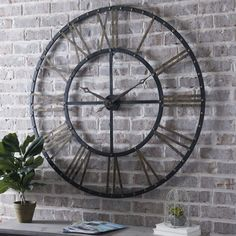 A clock so beautiful, you'll keep wanting to check the time!