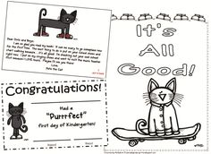 73 Cool Pete the Cat Freebies and Teaching Resources :: KindergartenWorks…