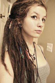 How do it looks, if a girl dreadlocks her hair? It's cute^^