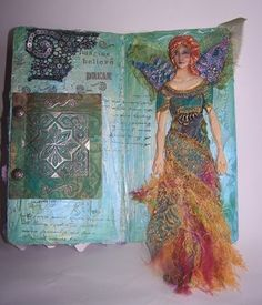 Altered - Assemblage - Mixed Media - Art Journal - Altered Books