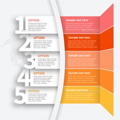 Business infographic & data visualisation Abstract vector Infographics from 5 steps. – Infographics Infographic Description Abstract vector Infographics from 5 steps. Ppt Design, Flow Chart Design, Design Poster, Brochure Design, Booklet Design, Design Layouts, 3d Templates, Powerpoint Design Templates, Flyer Template