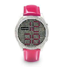 Phosphor Ladies Appear Pink Watch