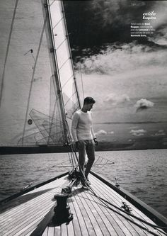Jimmy Young Spends a Day at Sea for Esquire España