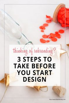 Want your rebrand to be successful? Don't jump into design before you take these 3 steps. Focusing on look and feel could lead to lost time and wasted money.