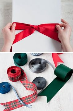 How to tie a perfect bow.