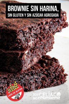 Good Food, Yummy Food, Diabetic Desserts, Brownie Recipes, Vegan Brownie, Sans Gluten, Desert Recipes, Healthy Desserts, Best Dinner Recipes