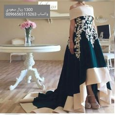 fe21a6440 Short Front Long Back Boat Neck Off the Shoulder Long Arabic Style Evening  Gowns Dubai Satin Lace A Line Evening Dress Aramex