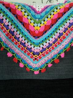 Beautiful summer scarf made by T-Jonge