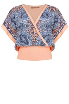 Paisley Front Top