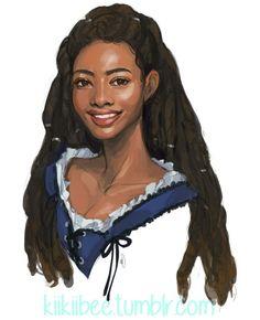 "kiikiibee: "" portrait of super cute character, Chayand~ "" Artist Kiikiibee Black Characters, Cute Characters, Fantasy Characters, Female Characters, Black Girl Art, Black Women Art, Art Girl, Fantasy Inspiration, Character Design Inspiration"