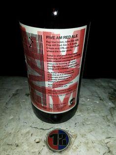 brewdog. five am red ale, 5%