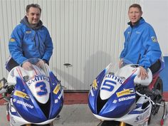 Rutter And Johnson Confirmed For Smiths Triumph Team At 2014 Isle Of Man TT Races - http://superbike-news.co.uk/Motorcycle-News/rutter-johnson-confirmed-smiths-triumph-team-2014-isle-man-tt-races/