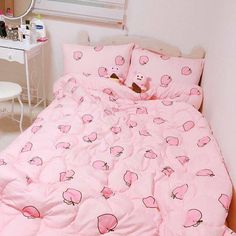 Discover ideas about dream rooms Dream Rooms, Dream Bedroom, Girls Bedroom, Bedroom Decor, Bedrooms, Pastel Bedroom, Kawaii Bedroom, Otaku Room, Cute Room Ideas