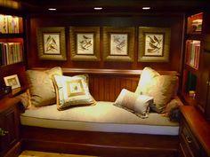 Custom cushions by Jane Gianarelli