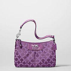 Purple Coach Purse Google Search