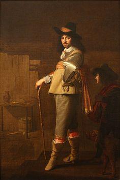 Johannes Cornelisz Verspronck, Portrait of Andries Stilte, 1639-40