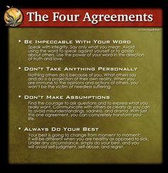 TeaTime - The Four Agreements - Tom Harvey Training