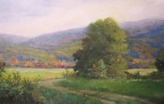 Based on the view outside of the Putney Barn. #vermontpaintings #Loriwoodward