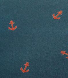 Azure Collection- Anchor Red Navy Knit