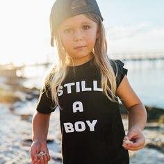 Still A Boy - Kids Tee