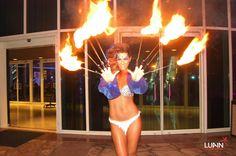 Dedos de fuego -Ovo NightClub Hotel Conrad Punta del Este 2014