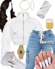 Cute Outfit Ideas for Teen Girls Baddie Outfits Casual, Boujee Outfits, Swag Outfits For Girls, Cute Swag Outfits, Teenage Girl Outfits, Cute Comfy Outfits, Teen Fashion Outfits, Dope Outfits, Polyvore Outfits