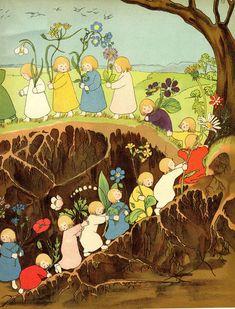 Root Children -- 1906 German children's book