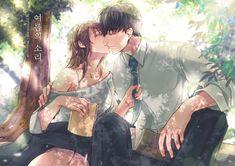 Anime Couples Hugging, Anime Couples Drawings, Anime Couples Manga, Cute Anime Couples, Manga Anime, Anime Love Couple, Manga Couple, Couple Art, Anime Art Girl