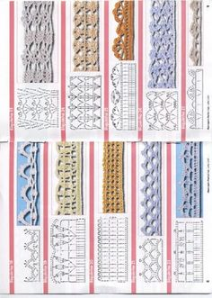 Crochet Edges - Chart