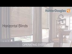 Learn about all of the operating systems available for Hunter Douglas horizontal blinds.  Horizontal blinds are ideal for windows that are taller than they are wide. You can choose Hunter Douglas window coverings made from premium hardwoods, durable polymers or versatile aluminum.  http://www.windowdecor.com/hunter-douglas/wood-metal-blinds