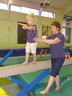 Seacliff Pre-Gym is conducted by qualified Kindergym / Gymnastic coaches.
