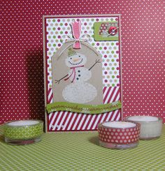 Stampin Up Season of Style & Snow Day Christmas card by Xandra