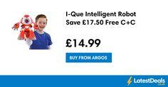 I-Que Intelligent Robot Save £17.50 Free C+C, £14.99 at Argos