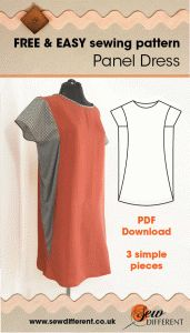 Gathered Panel Tee – FREE SEWING PATTERN