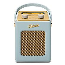 Duck egg Revival Mini bedside table vintage shabby chic radio by Roberts. Roberts Radio, Portable Dab Radio, Radio Shop, Retro Radios, Built In Speakers, Duck Egg Blue, Retro Design, Jukebox, Mini