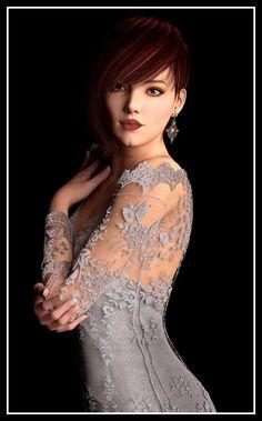 Grey Lace by Ikke46.deviantart.com on @DeviantArt