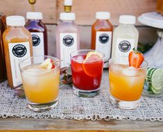 DIY These 3-Ingredient Happy Hour Cocktails #diy #cocktail