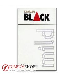 Made of selected clove and tobacco with innovative double filter technology, Djarum Black Mild Clove Cigarettes give you the smooth, yet not too spicy taste.