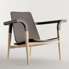 """Modernatique"" chair designed..."