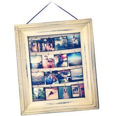 Natty Michelle: Diy: Instagram Clip Frame